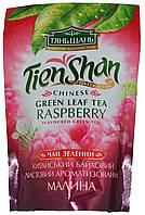 """Чай зеленый Tien-Shan """"Малина"""" 80г"""