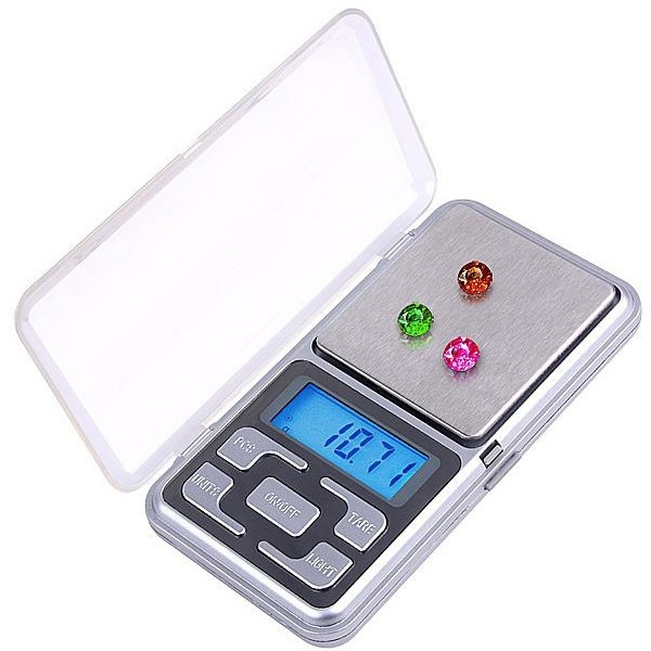 Кишенькові ювелірні ваги електронні 0,01-100, A61