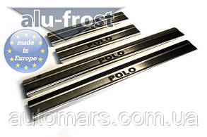 Накладки на пороги Volkswagen Polo IV 5D 2001-2009