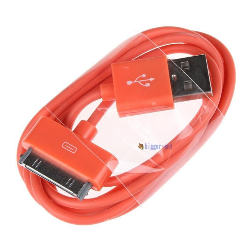 Кольоровий USB кабель для Iphone 3 3gs 4 4s Ipad №135