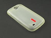 Чехол TPU для Samsung Galaxy W I8150 белый