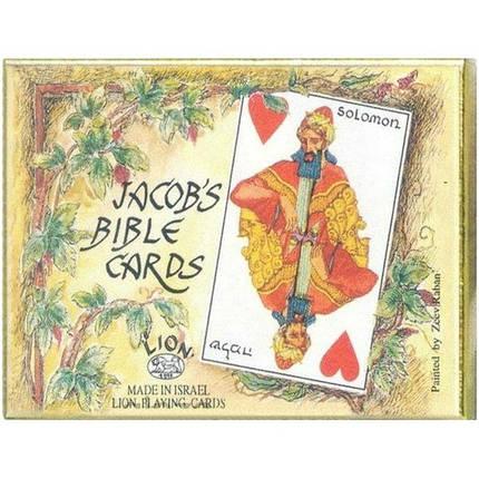 Комплект - игральные карты Piatnik Old Bible cards 2 колоды по 55 листов, фото 2