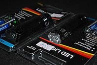 Алюминевый фонарик на батарейках 3 батарейки A164