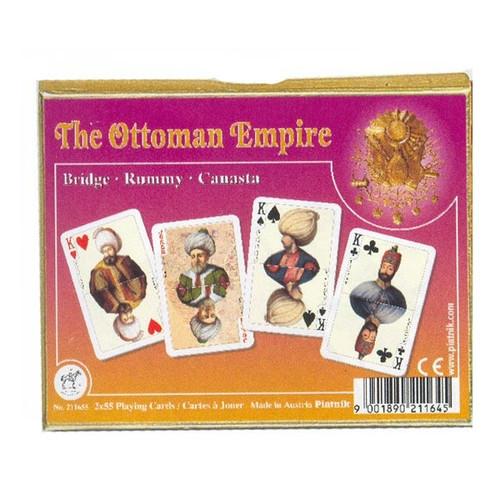 Комплект - игральные карты Piatnik Ottoman Empire 2 колоды по 55 листов
