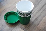 Термочашка чашка керамическая Starbucks Старбакс, A96, фото 1