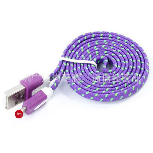 Тканевый кабель Iphone 5 5s 5c 6 6s 6 Plus №173