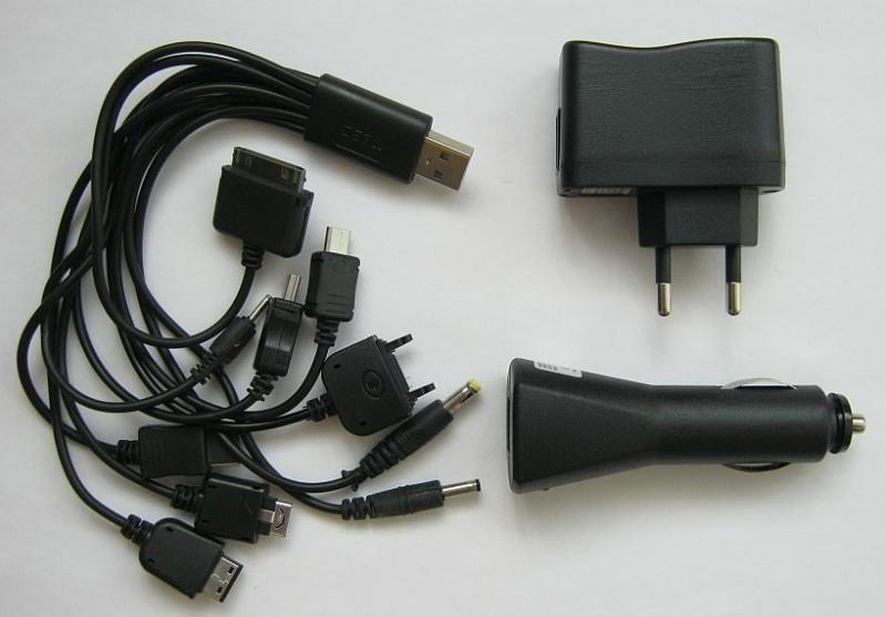 Универсальное зарядное 10 в 1 USB кабель шнур A247