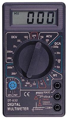 Цифровий мультиметр тестер DT-832, A254
