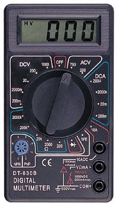 Цифровой мультиметр DT- 830B тестер, A248