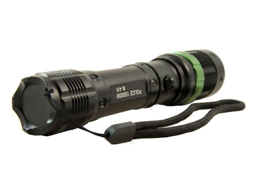 Мощный тактический фонарик BL-A15, A113