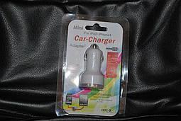 USB адаптер в прикуриватель авто 2 USB, A131