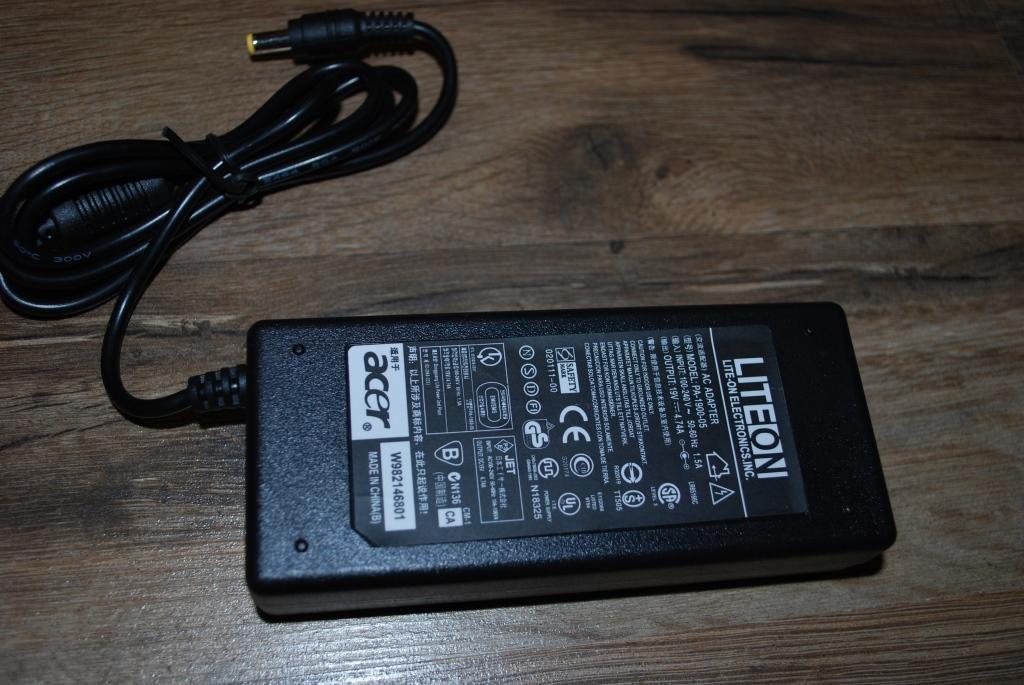 Зарядний пристрій адаптер блок живлення для Acer, A156