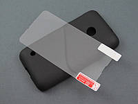Чехол Nillkin и пленка для Nokia Lumia 530 Dual Sim черный