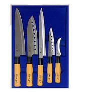 Набір з 5 кухонних ножів Gold Sun F105A, A209