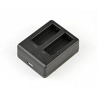 Зарядка двойная для аккумуляторов SJCAM SJ4000 SJ5000 M10
