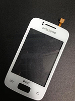 Оригинальный тачскрин / сенсор (сенсорное стекло) для Samsung Galaxy Y Duos S6102 (белый цвет)