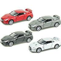 Модель автомобиля KINSMART Nissan GT- R R35 2009, 1:36