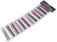 Блёстки глиттер рассыпчатые (6 цветов х 2) для декора и рукоделия
