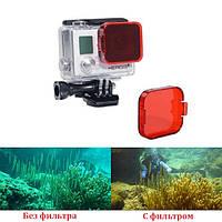 Фильтр подводный для камер GoPro Hero 3+ 4