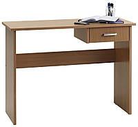 Стол письменный деревянный 100х40х75см бук