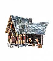 Картонная модель Кузница 378 Умная Бумага
