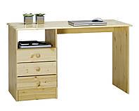 Столик письменный деревянный 120x57х72см лак, фото 1