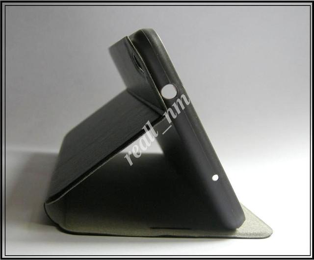 белый чехол книжка Lenovo phab