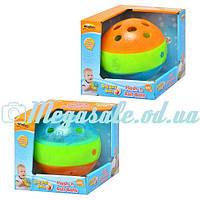 Обучающая игрушка Шар WinFun: 2 цвета, погремушка, музыка + свет