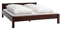 Кровать 140x200см антик (массив акации)