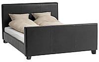 Кровать двухспальное 140x200см коричневое (массив сосны)
