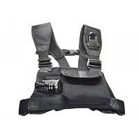 Крепление на грудь с карманом для двух камер GoPro SJCAM XIAOMI SONY