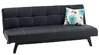 Кровать раскладная 2-х местная черная, 108х180 см