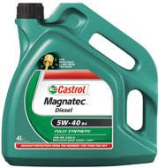 Масло моторное Castrol Magnatec Diesel 5W-40 B4 4L (Канистра 4литра)