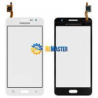 Тачскрін (сенсор) Samsung GALAXY GRAND PRIME G530 WHITE Оригінал