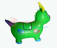 Надувная игрушка-попрыгунчик козлик (зеленый)