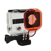 Фильтр подводный красный 137 для камер GoPro Hero 3+ 4