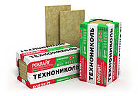 Теплоизоляция базальтовая минеральная вата РОКЛАЙТ Технониколь 100 мм/ плотность 30 кг/м3