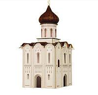 Картонная модель Церковь Покрова на Нерли 315 УмБум