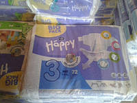 Подгузники Bella Happy 3 (5-9 кг) 72 шт