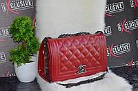 Шикарная сумка от Chanel (Шанель) красная.