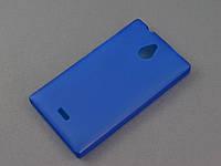Чехол TPU для Nokia X2 Dual Sim синий