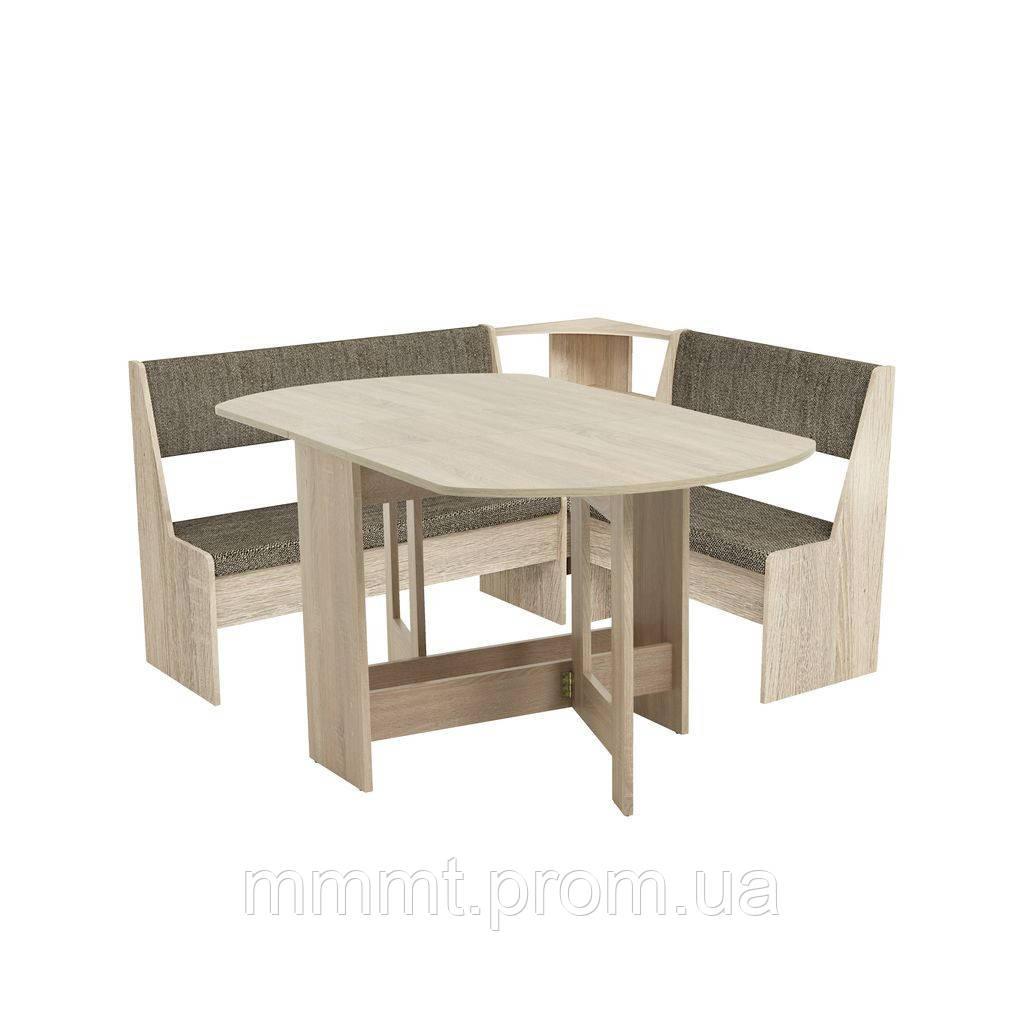 Комплект кухонный ( мягкий уголок + раскладной стол)  - Твой магазин в Киеве