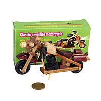 Сувенир мотоцикл деревянный, маленький