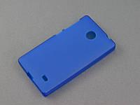 Чехол TPU для Nokia X Dual Sim синий