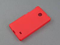 Чехол TPU для Nokia X Dual Sim красный