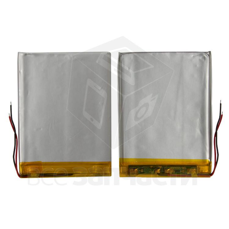 Аккумулятор для автонавигаторов Navi N70 BT; GPS 7,0', (65*48*3 мм), (Li-ion 3.7В 900мА·ч)
