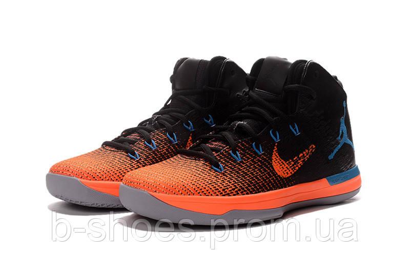 Мужские баскетбольные кроссовки Air Jordan 31 (Black Orange Blue) - B- 51521d0264a