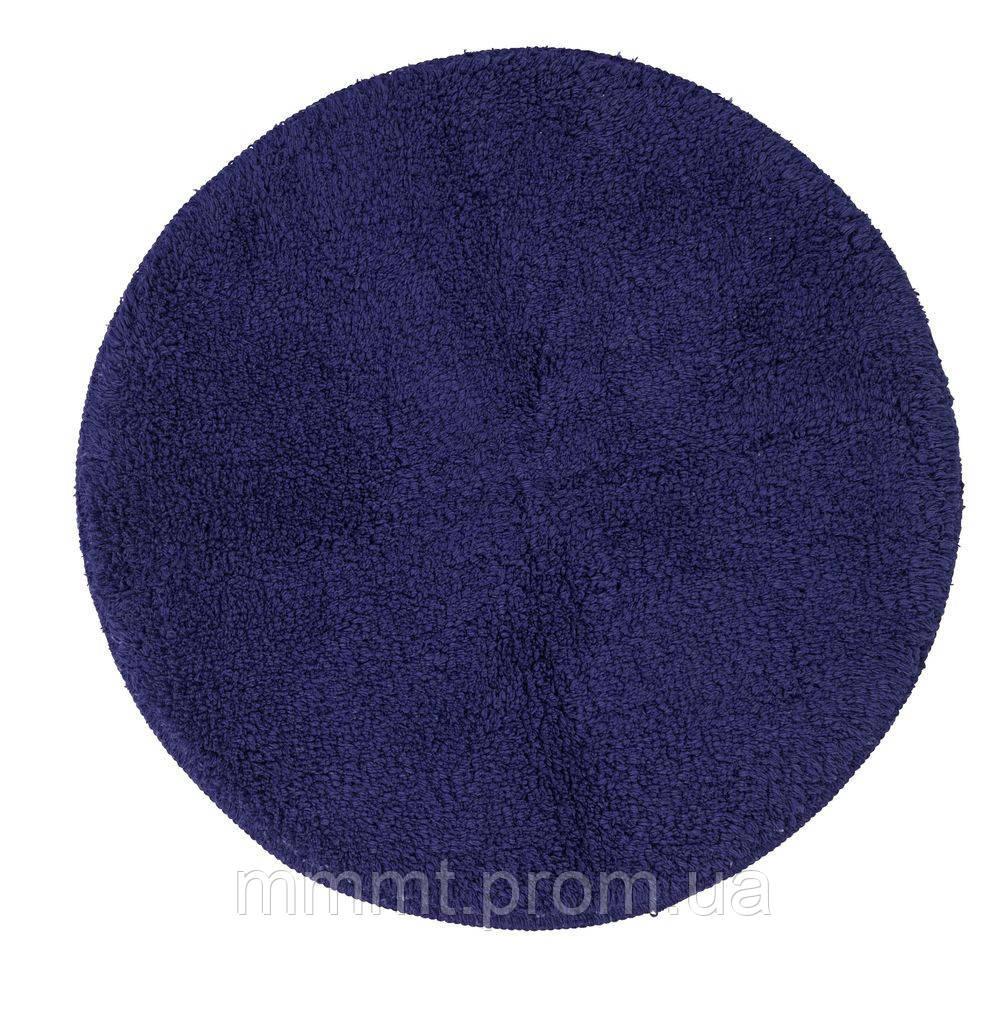 Коврик в ванную фиолетовый  круглый диаметр 56см