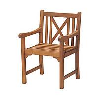 Садовое кресло из хардвуда  (твердое дерево) 62х58 см