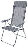 Садово - туристический стул Садово - туристический стул тканевый складной с подлокотниками, фото 1
